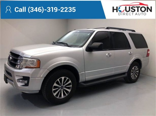Used 2015 Ford Expedition for sale in Houston TX.  We Finance!