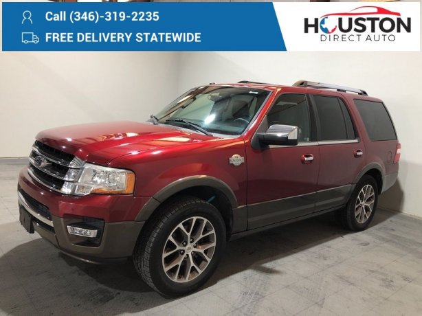 Used 2016 Ford Expedition for sale in Houston TX.  We Finance!