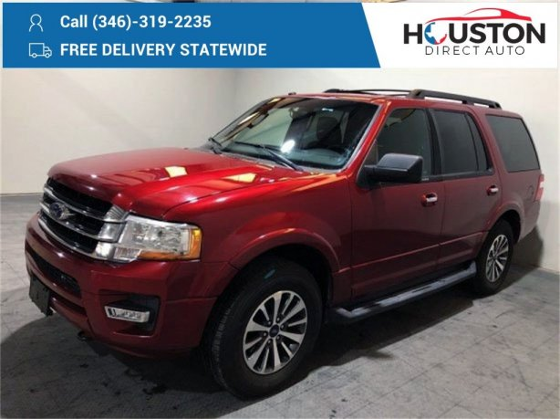Used 2017 Ford Expedition for sale in Houston TX.  We Finance!