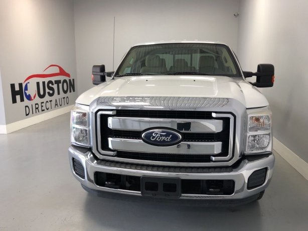 Used 2011 Ford F-250SD for sale in Houston TX.  We Finance!
