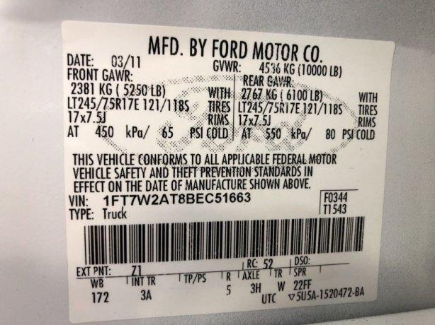 2011 Ford F-250SD XLT