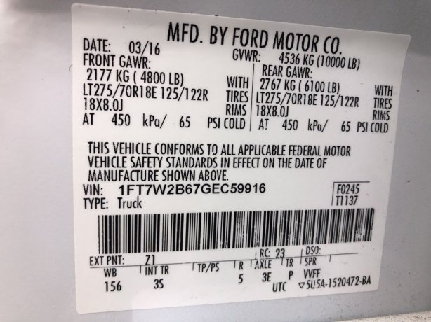 Ford 2016 for sale near me