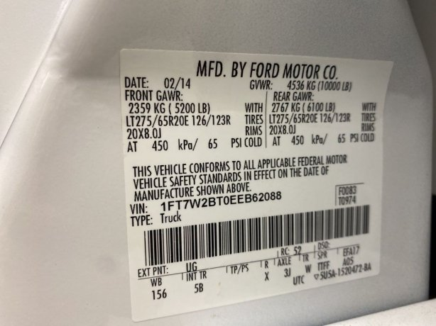 Ford F-250SD 2014 near me