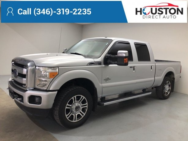 Used 2015 Ford F-250SD for sale in Houston TX.  We Finance!