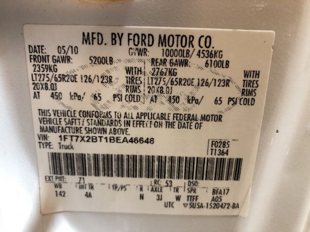 Ford F-250SD near me