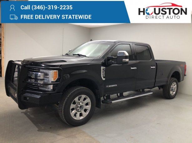 Used 2019 Ford F-350SD for sale in Houston TX.  We Finance!