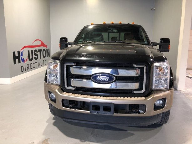 Used 2012 Ford F-450SD for sale in Houston TX.  We Finance!