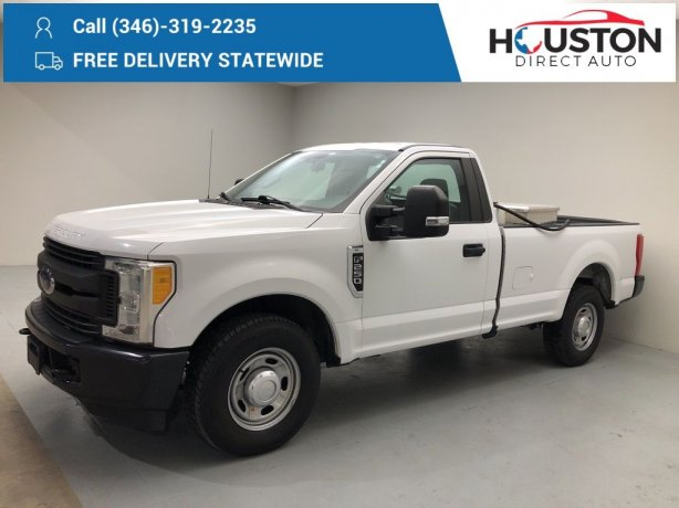 Used 2017 Ford F-250SD for sale in Houston TX.  We Finance!