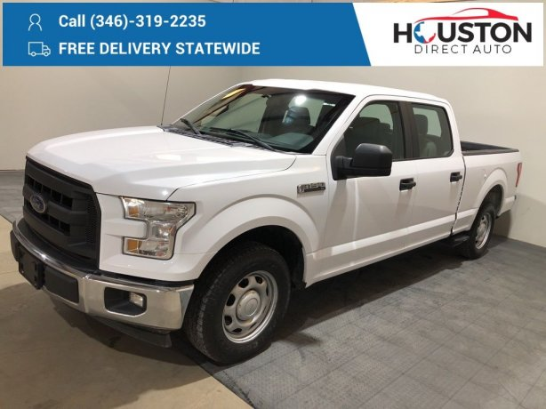 Used 2017 Ford F-150 for sale in Houston TX.  We Finance!