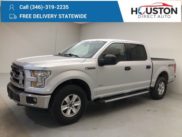 Used 2016 Ford F-150 for sale in Houston TX.  We Finance!