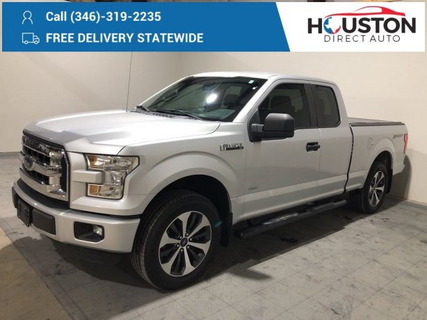 Used 2015 Ford F-150 for sale in Houston TX.  We Finance!