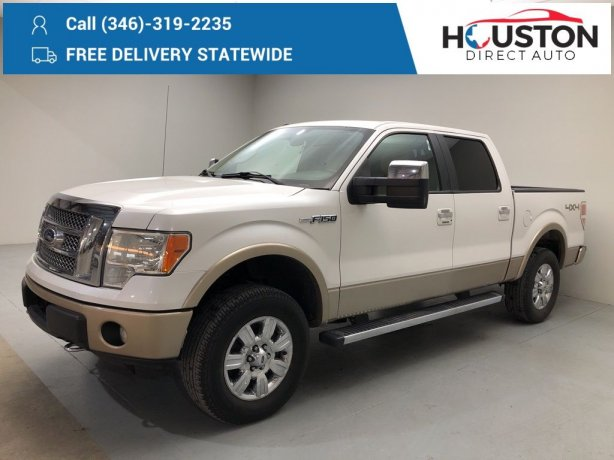 Used 2012 Ford F-150 for sale in Houston TX.  We Finance!
