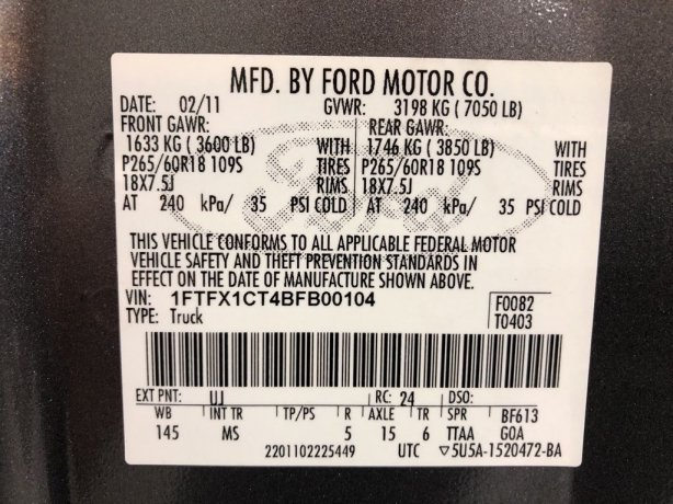 Ford 2011 for sale Houston TX