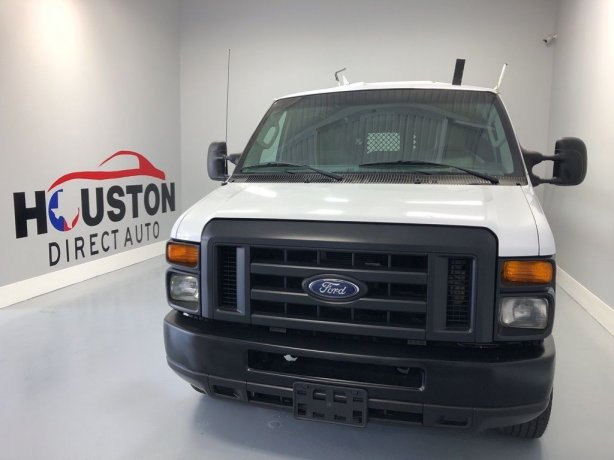 Used 2013 Ford E-250 for sale in Houston TX.  We Finance!