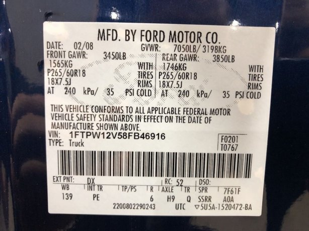 Ford 2008 for sale near me