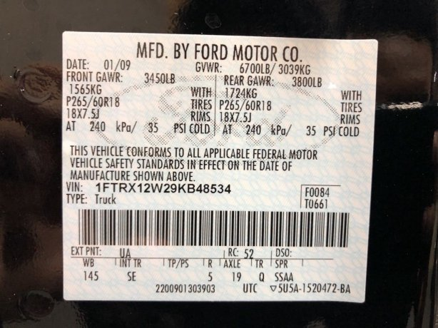 Ford 2009 for sale Houston TX