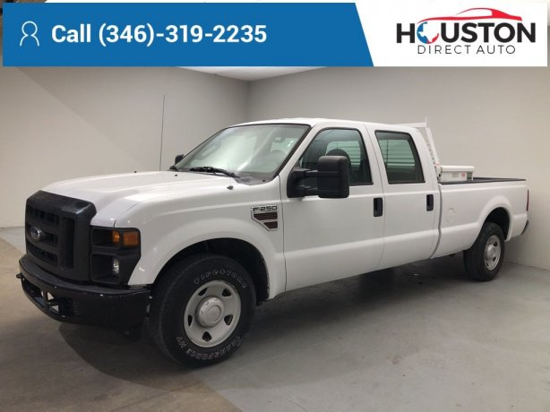 Used 2010 Ford F-250SD for sale in Houston TX.  We Finance!