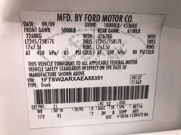 Ford 2010 for sale Houston TX