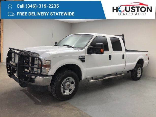 Used 2009 Ford F-350SD for sale in Houston TX.  We Finance!