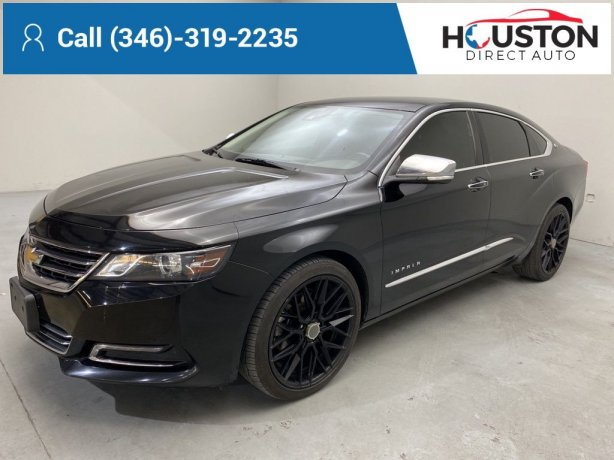 Used 2017 Chevrolet Impala for sale in Houston TX.  We Finance!