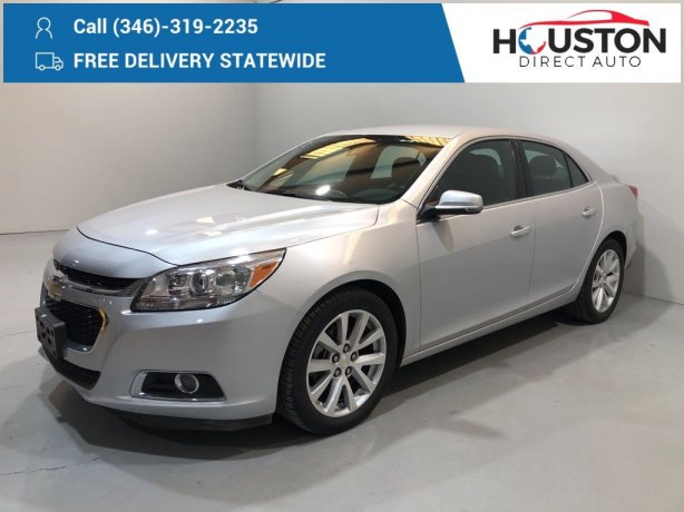 Used 2016 Chevrolet Malibu Limited for sale in Houston TX.  We Finance!
