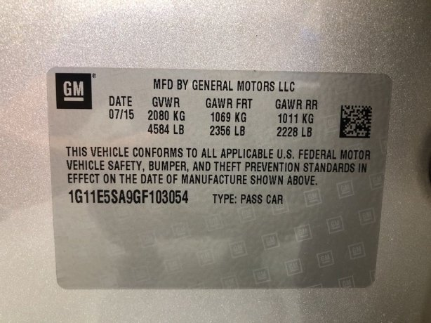 Chevrolet Malibu Limited cheap for sale near me