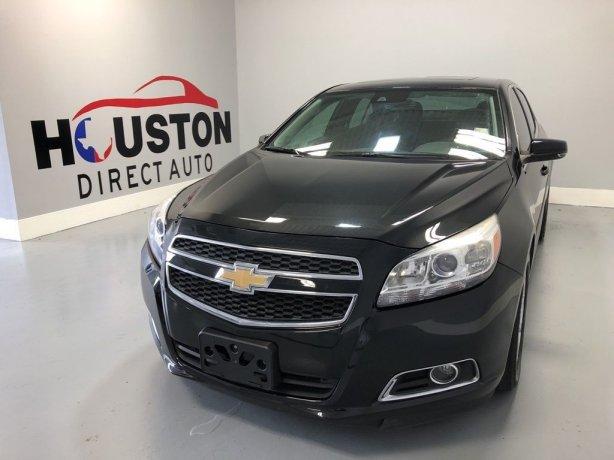 Used 2013 Chevrolet Malibu for sale in Houston TX.  We Finance!