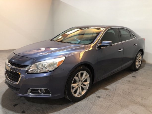 Used 2014 Chevrolet Malibu for sale in Houston TX.  We Finance!