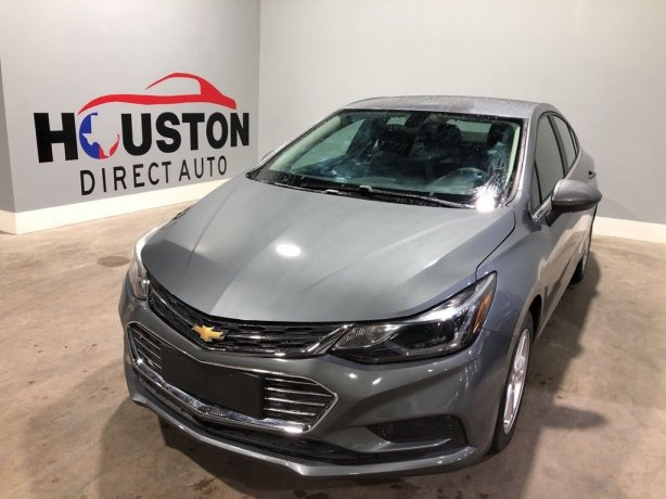 Used 2018 Chevrolet Cruze for sale in Houston TX.  We Finance!