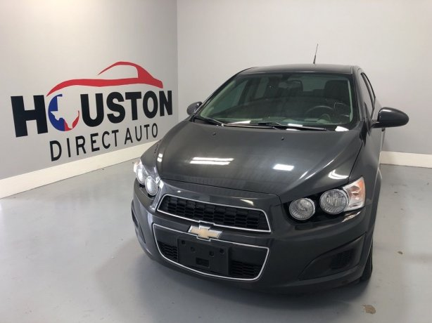 Used 2014 Chevrolet Sonic for sale in Houston TX.  We Finance!