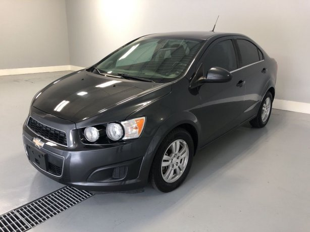 Used Chevrolet Sonic for sale in Houston TX.  We Finance!