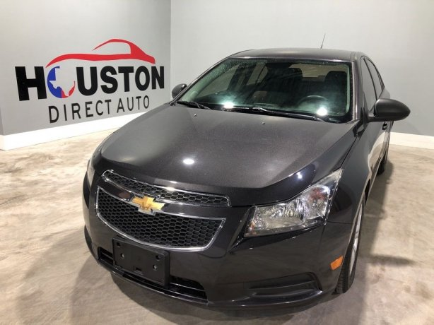 Used 2014 Chevrolet Cruze for sale in Houston TX.  We Finance!