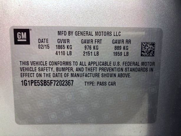 Chevrolet Cruze cheap for sale