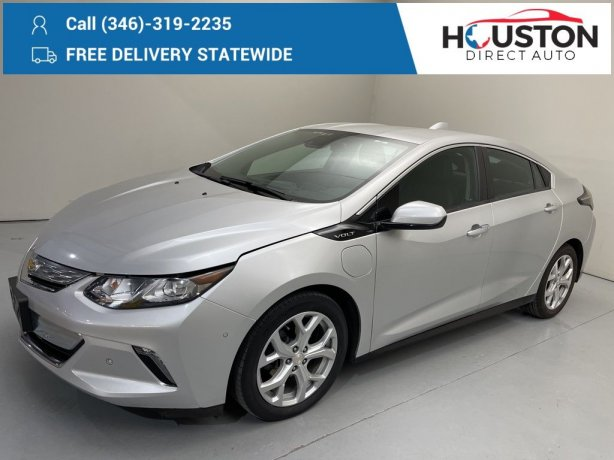 Used 2017 Chevrolet Volt for sale in Houston TX.  We Finance!