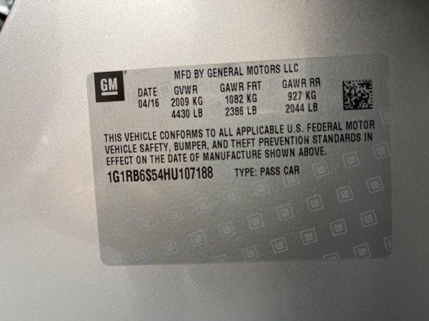 Chevrolet Volt 2017 for sale