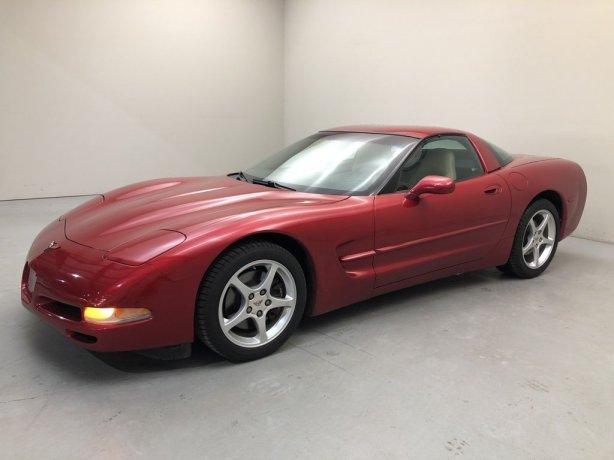 Used 2000 Chevrolet Corvette for sale in Houston TX.  We Finance!