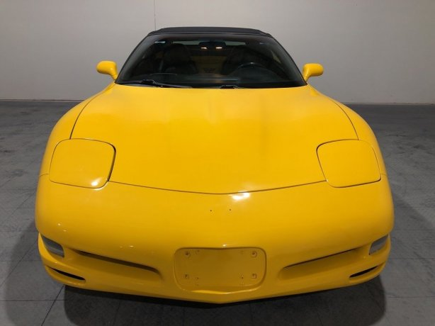 Used Chevrolet Corvette for sale in Houston TX.  We Finance!