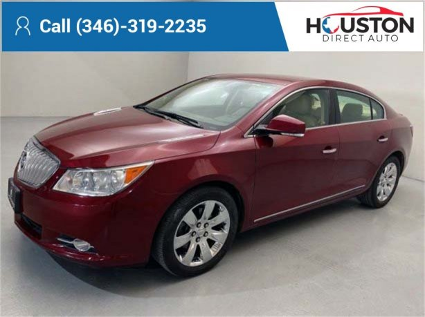 Used 2011 Buick LaCrosse for sale in Houston TX.  We Finance!