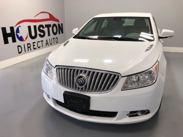 Used 2010 Buick LaCrosse for sale in Houston TX.  We Finance!