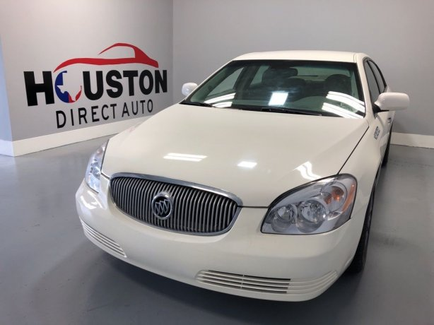 Used 2009 Buick Lucerne for sale in Houston TX.  We Finance!