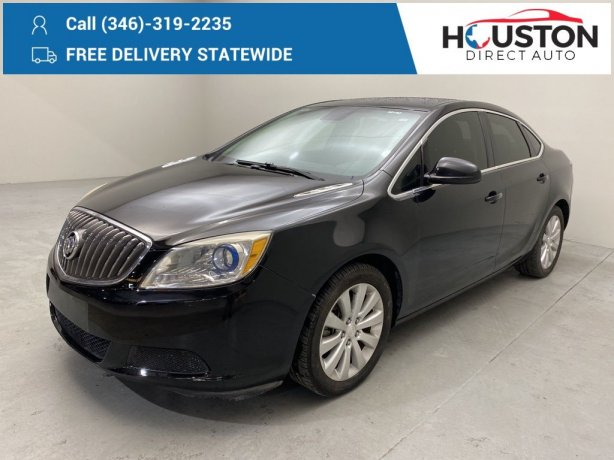 Used 2016 Buick Verano for sale in Houston TX.  We Finance!