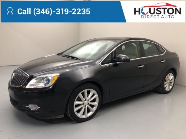 Used 2014 Buick Verano for sale in Houston TX.  We Finance!