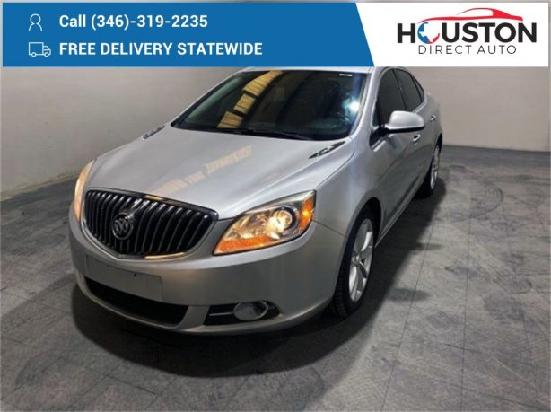 Used 2015 Buick Verano for sale in Houston TX.  We Finance!