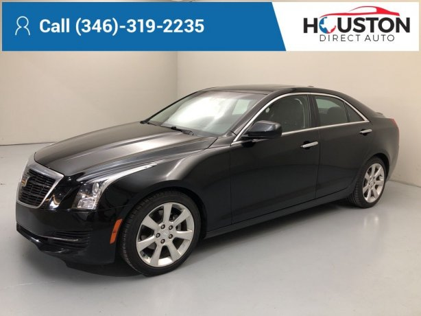 Used 2016 Cadillac ATS for sale in Houston TX.  We Finance!