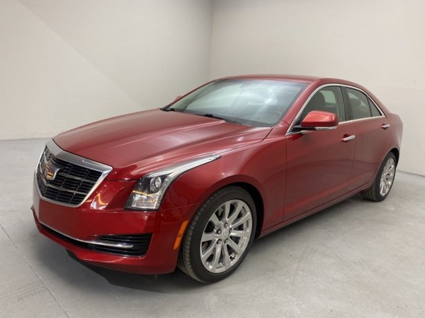 Used 2017 Cadillac ATS for sale in Houston TX.  We Finance!