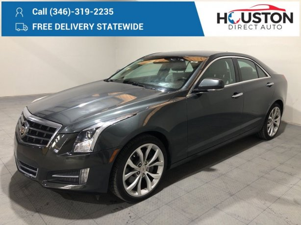 Used 2014 Cadillac ATS for sale in Houston TX.  We Finance!