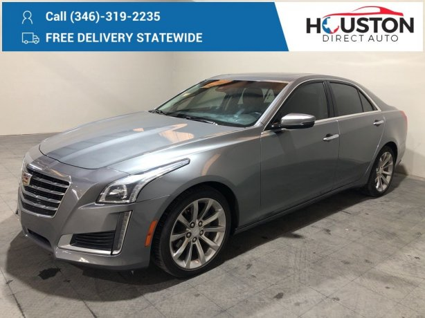 Used 2018 Cadillac CTS for sale in Houston TX.  We Finance!