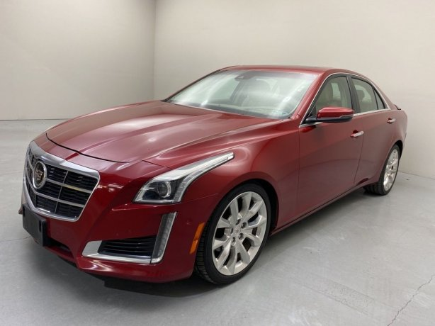 Used 2014 Cadillac CTS for sale in Houston TX.  We Finance!