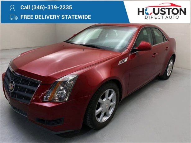 Used 2008 Cadillac CTS for sale in Houston TX.  We Finance!