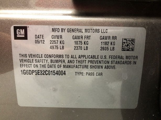 Cadillac CTS 2012 for sale